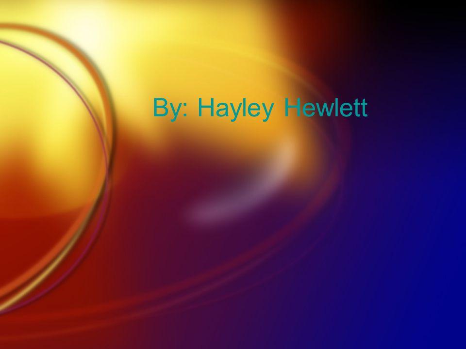By: Hayley Hewlett