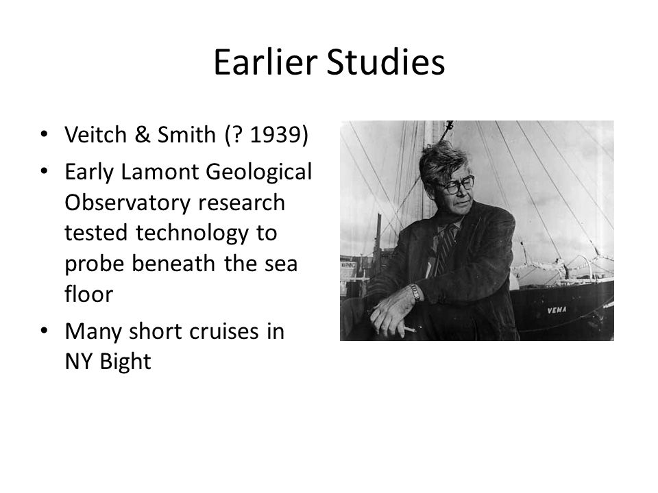Earlier Studies Veitch & Smith (.