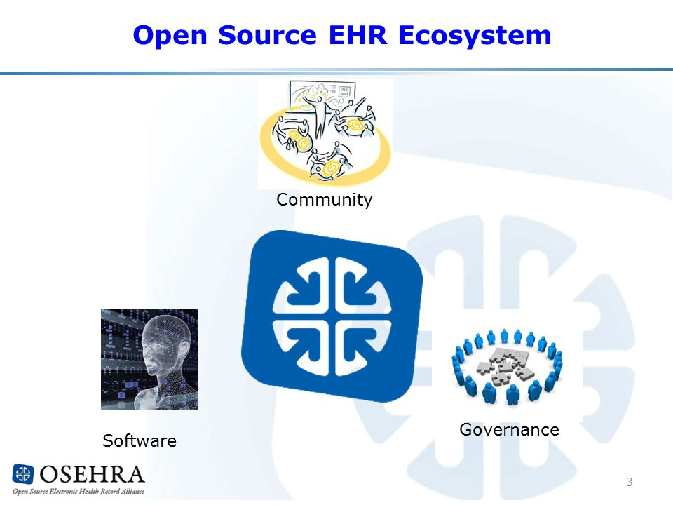Open Source EHR Ecosystem Community Software Governance 3