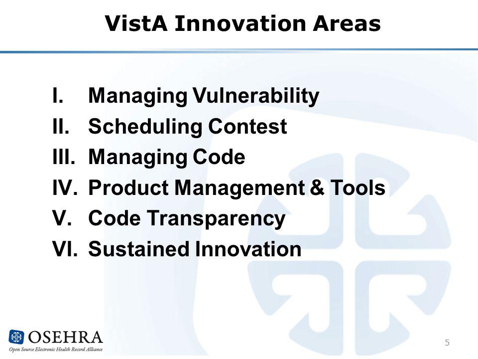 I. Managing Vulnerability II. Scheduling Contest III.