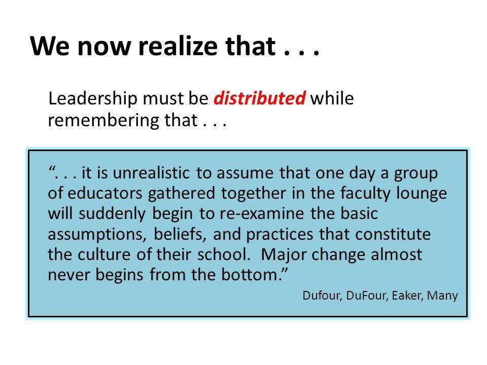 How has school culture been impacted.