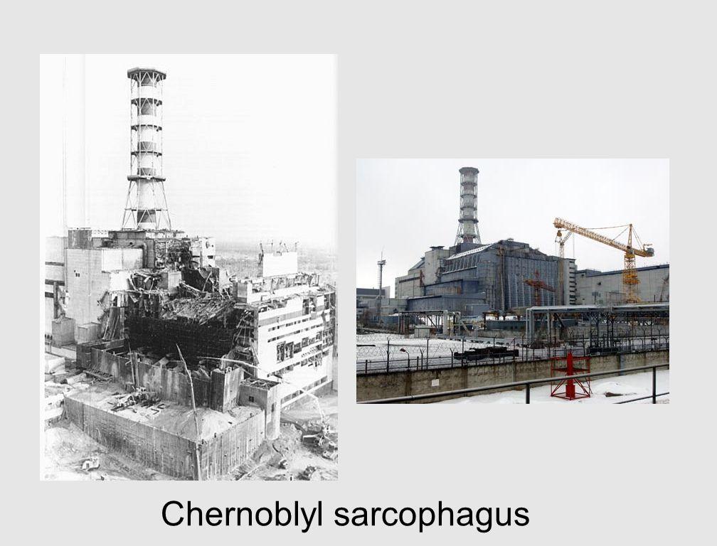 Chernoblyl sarcophagus