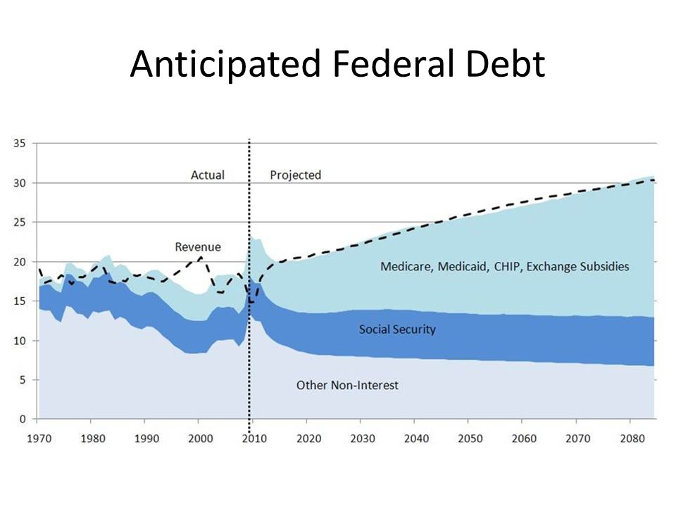 Anticipated Federal Debt