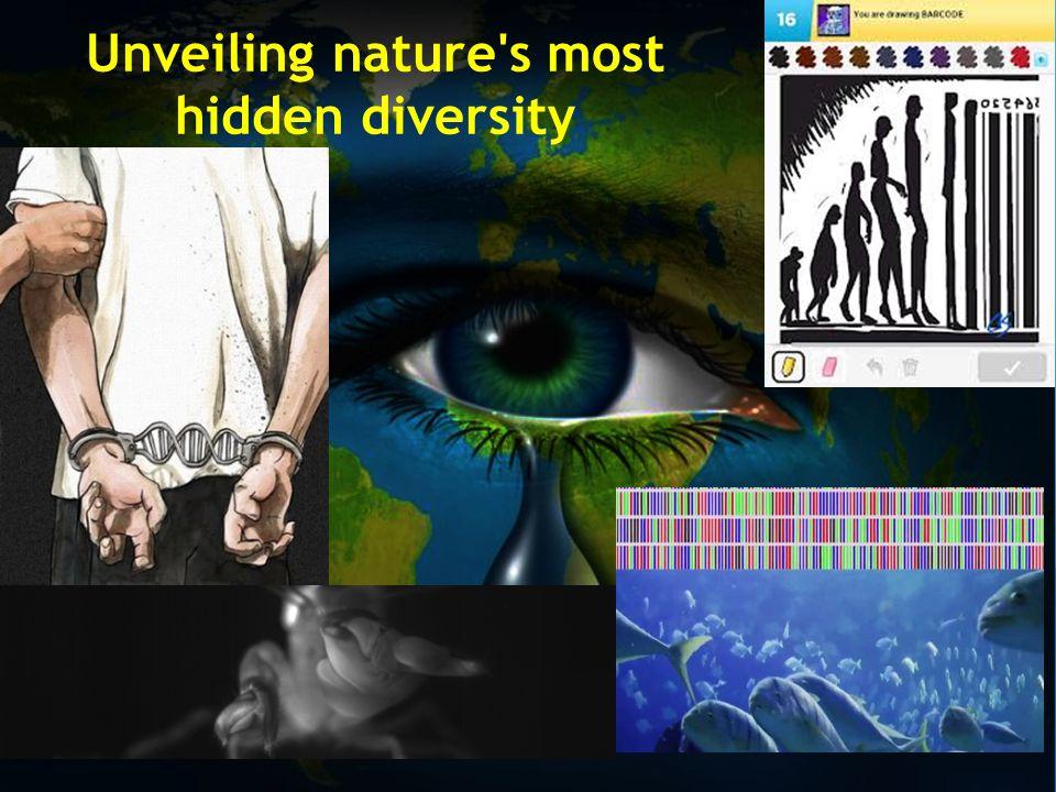 Unveiling nature s most hidden diversity