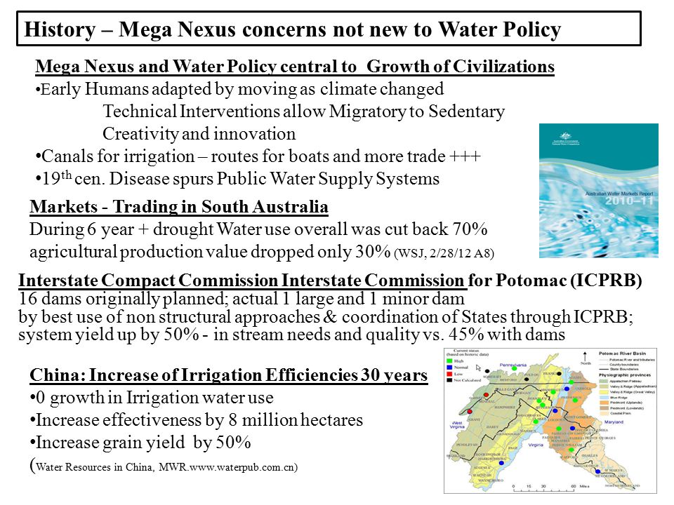 river + +dike = Political order = Water management (and water reform) is ALWAYS political…..