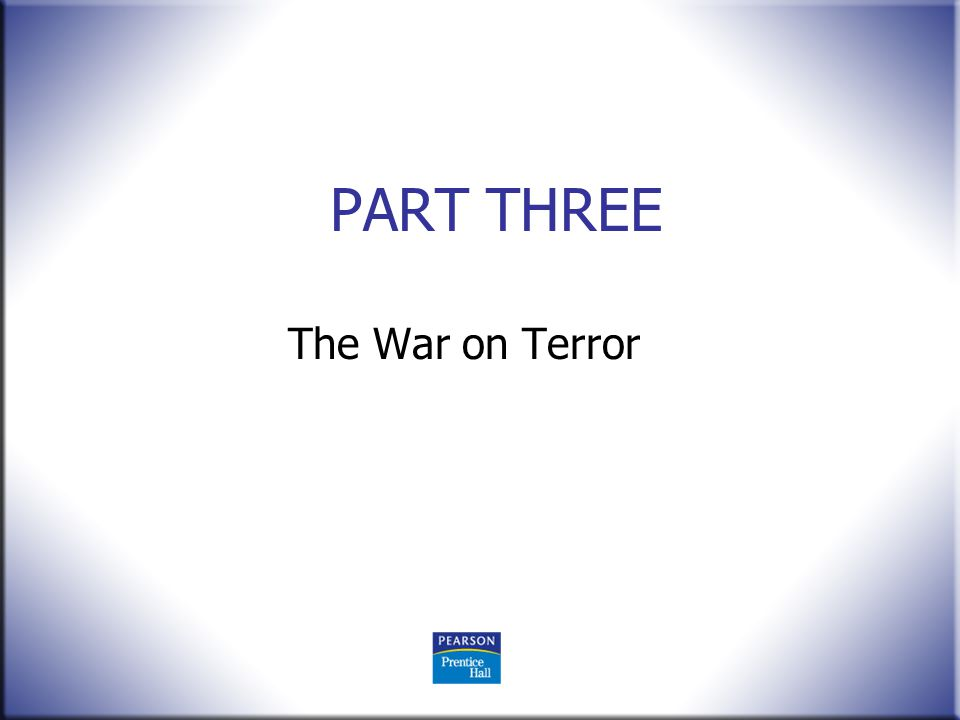 Terrorism Today, The Past The Players The Future 4 Edition.