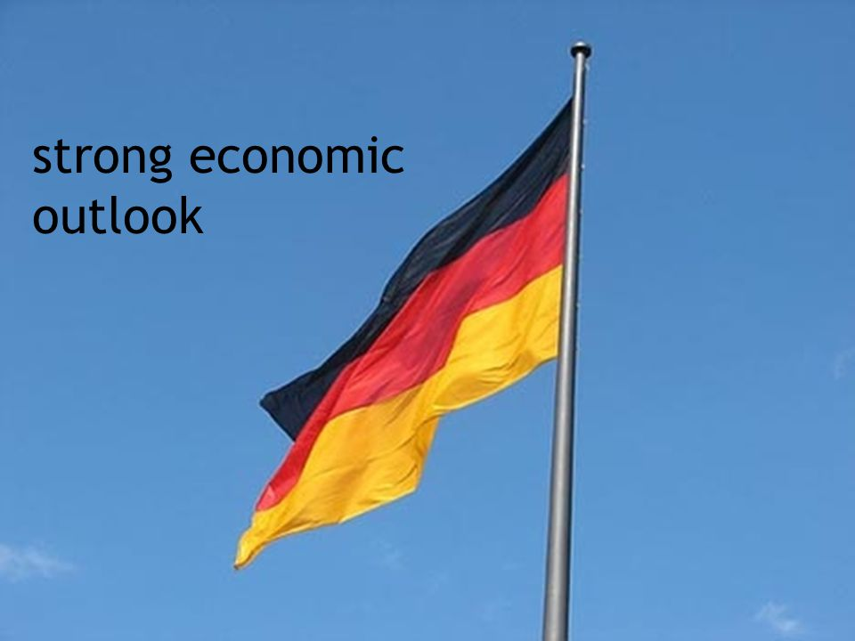 strong economic outlook