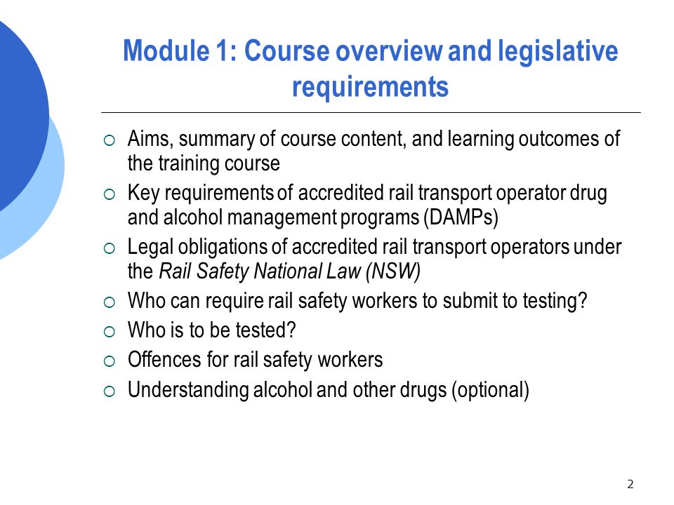43 Exercise 1: Drug and alcohol testing equipment and procedures scenarios  Read Frequently Asked Question #4.