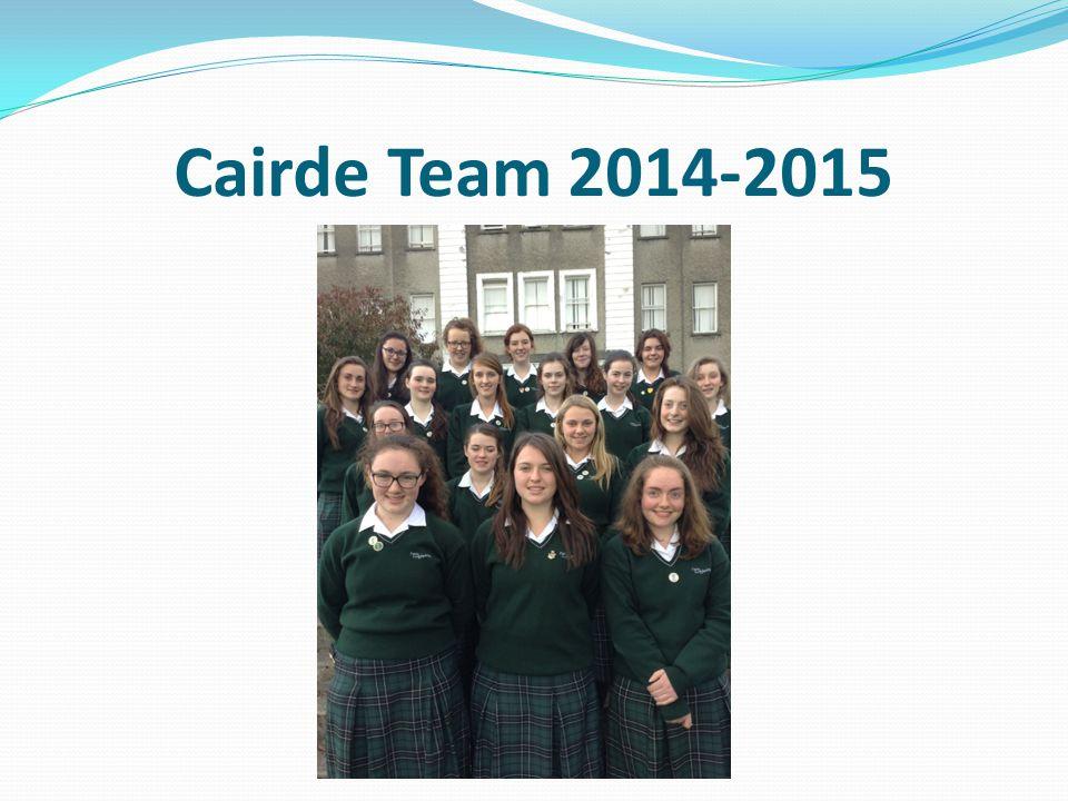 Cairde Team 2014-2015