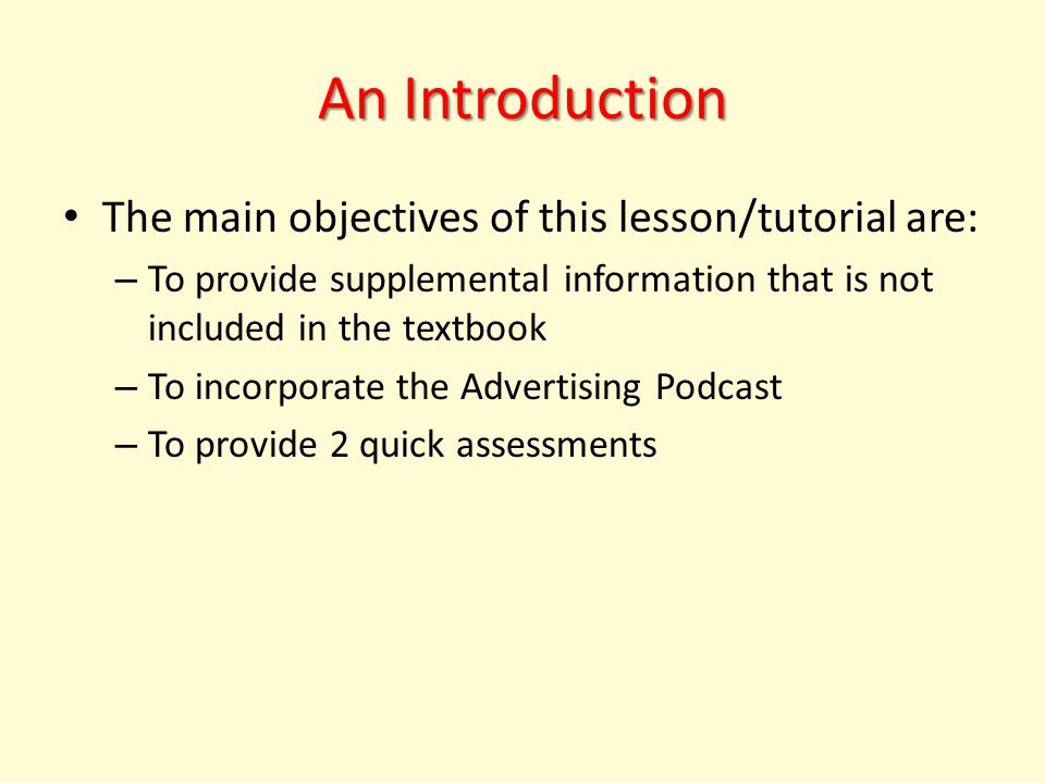 What is Advertising.EDTEC 440 – MultiMedia Project: What is Advertising.