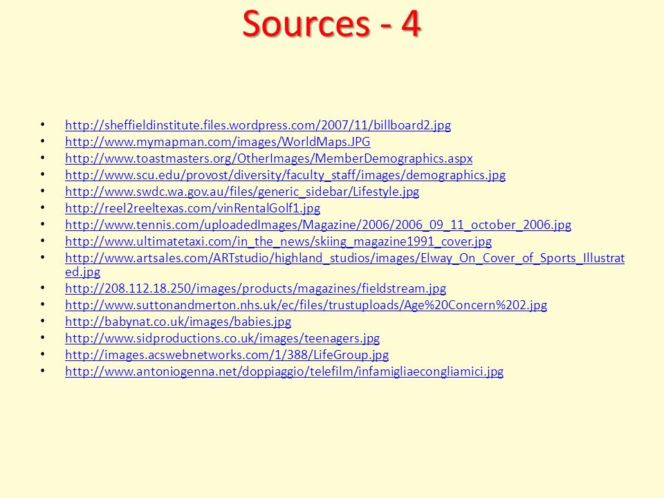 Sources - 3 http://images.google.com/imgres?imgurl=http://www.globalenvision.org/_image/internet.jpg&img refurl=http://blog.bioethics.net/2006/02/&usg=___Q5xMWG5b7z7kJwIyiIBMO0CBPg=&h=301&w= 300&sz=40&hl=en&start=126&sig2=wTnzjQ7GXyUtEt0m3TzwYg&tbnid=8dA147Fe__aLmM:&tbnh= 116&tbnw=116&ei=7PM1SayDCJ- 08ATH9pj9Bw&prev=/images%3Fq%3Dinternet%26start%3D120%26gbv%3D2%26ndsp%3D20%26 hl%3Den%26sa%3DN http://images.google.com/imgres?imgurl=http://www.globalenvision.org/_image/internet.jpg&img refurl=http://blog.bioethics.net/2006/02/&usg=___Q5xMWG5b7z7kJwIyiIBMO0CBPg=&h=301&w= 300&sz=40&hl=en&start=126&sig2=wTnzjQ7GXyUtEt0m3TzwYg&tbnid=8dA147Fe__aLmM:&tbnh= 116&tbnw=116&ei=7PM1SayDCJ- 08ATH9pj9Bw&prev=/images%3Fq%3Dinternet%26start%3D120%26gbv%3D2%26ndsp%3D20%26 hl%3Den%26sa%3DN http://visual.merriam-webster.com/images/communications/office-automation/internet_1.jpg http://www.clipartof.com/images/clipart/xsmall2/17596_blue_globe_with_a_graph_and_url_for_t he_world_wide_web.jpg http://www.clipartof.com/images/clipart/xsmall2/17596_blue_globe_with_a_graph_and_url_for_t he_world_wide_web.jpg http://i.treehugger.com/files/th_images/dell_computers.jpg http://www.invest2success.com/images/trading_computers_notebook.jpg http://www.salford.ac.uk/study/student-experience/photos/images/large/mediacity.jpg http://www.treehugger.com/1984-sea-city-of-the-future-2.jpg www.paleofuture.com/2007_07_01_archive.html http://www.mediafuturist.com/images/2008/06/11/gerd_leonhard_at_effies_2008_greece.jpg http://nwn.blogs.com/photos/uncategorized/hempman_richard_and_ansible_berkman.jpg http://farm4.static.flickr.com/3281/2379200483_a6f45bccce.jpg?v=0 http://digi-adz.com/wp-content/themes/revolution_pro_media_10/images/header.gif http://ecx.images-amazon.com/images/I/511alqMEeEL._SL500_AA280_PIbundle- 12,TopRight,0,0_AA280_SH20_.jpg http://ecx.images-amazon.com/images/I/511alqMEeEL._SL500_AA280_PIbundle- 12,TopRight,0,0_AA280_SH20_.jpg http://i67.photobucket.com/albums/h306/jermy342/j2/comments/G