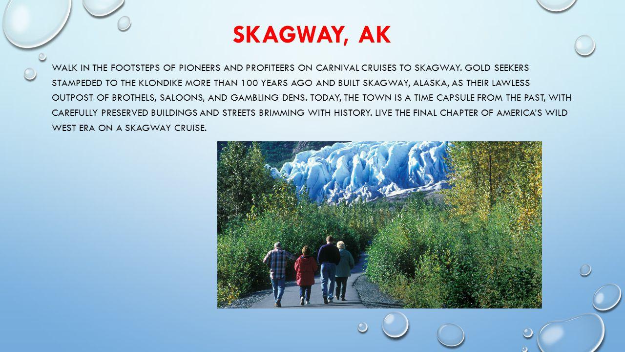 SKAGWAY, AK SHORE EXCURSIONS GLACIER POINT WILDERNESS SAFARI CHILKOOT TRAIL HIKING & RAFTING ADVENTURE WILDERNESS KAYAKING EXPERIENCE