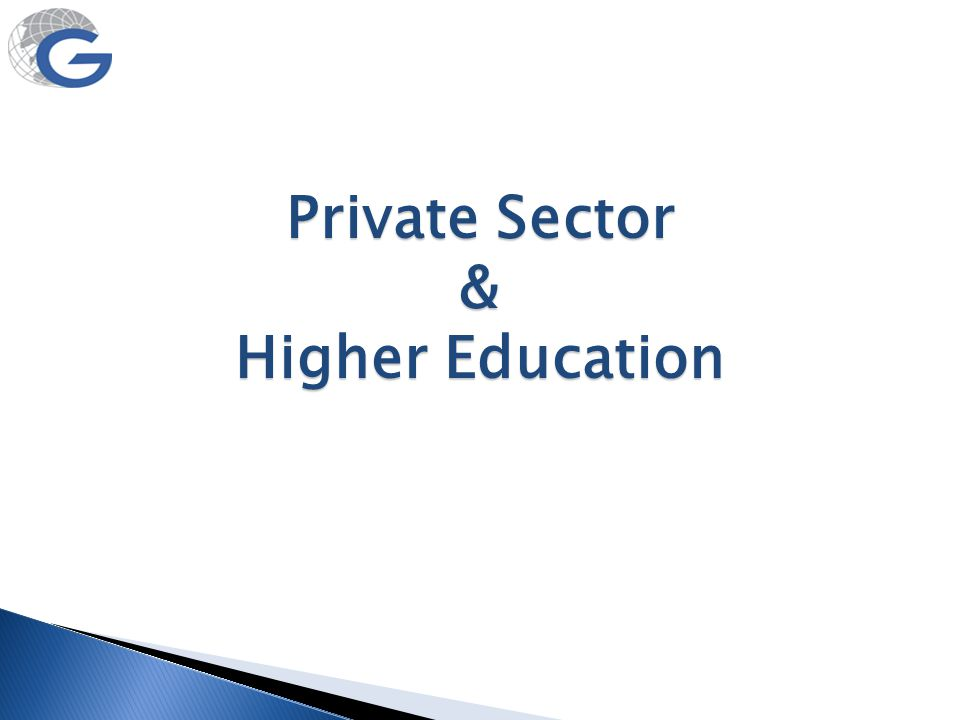 Percentage of unaided private institutions Percentage of students in unaided private institutions