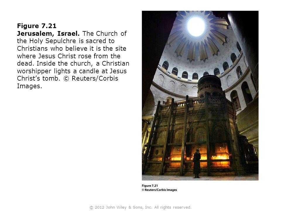 Figure 7.21 Jerusalem, Israel.