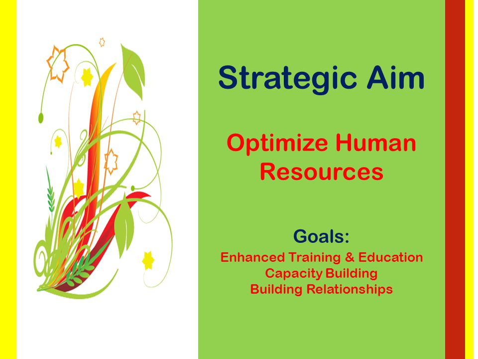 Strategic Aim Continuous Quality Improvement Goals: Best Practice Enhancing Operational Performance Integration & Coordination of Care
