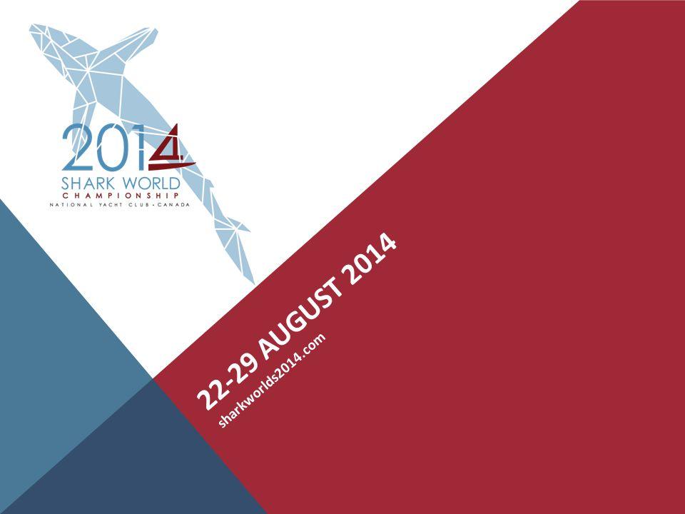 22-29 AUGUST 2014 sharkworlds2014.com