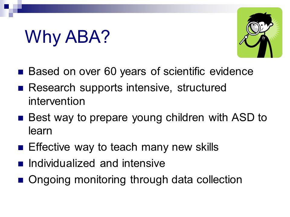 Why ABA.