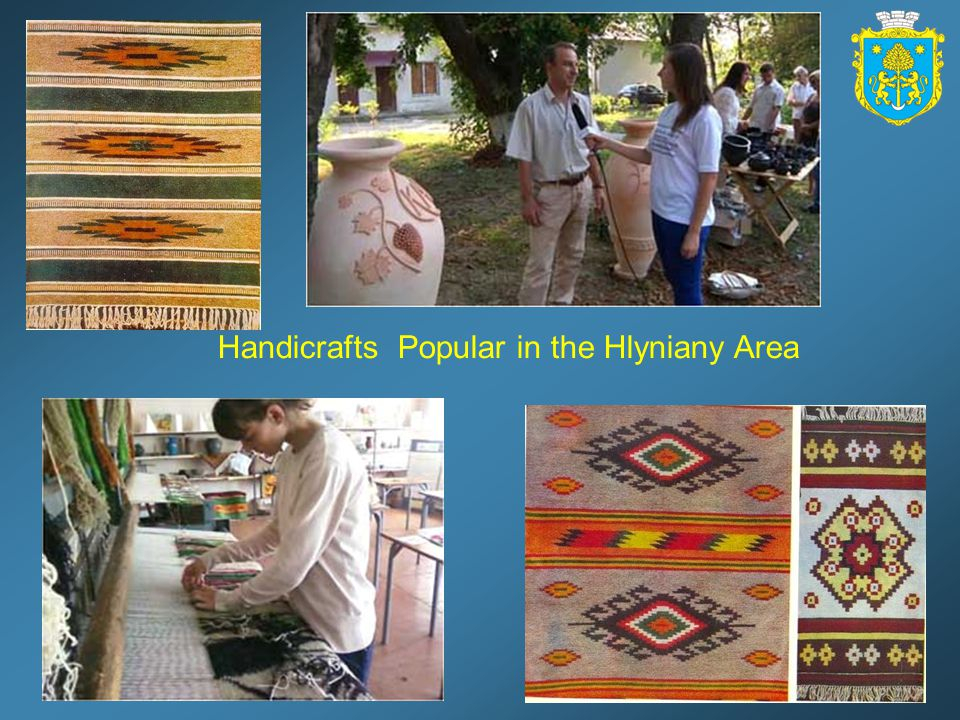 Handicrafts Popular in the Hlyniany Area