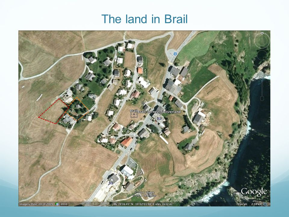The land in Brail