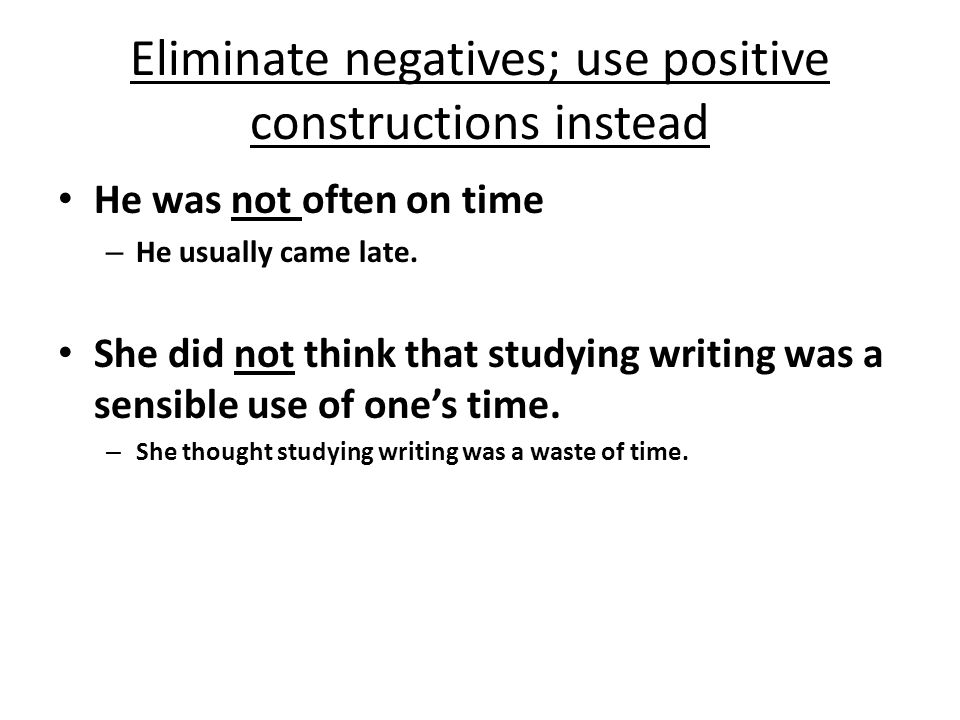 Today's introduction to writing well: Words: 1. Reduce dead weight words and phrases 2. Cut, cut, cut; learn to part with your words 3. Be specific Se
