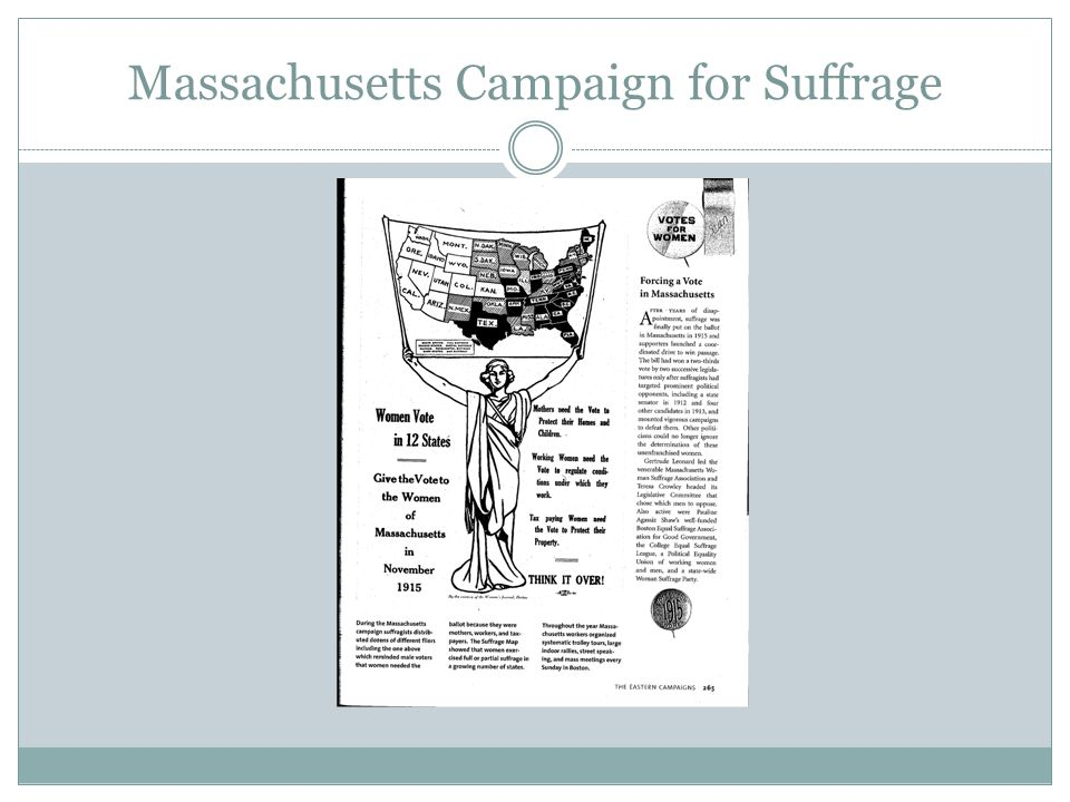 Massachusetts Campaign for Suffrage