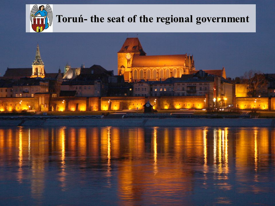 Toruń- the seat of the regional government