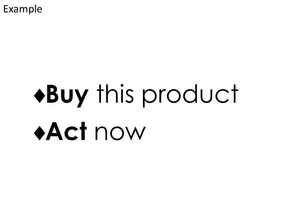  Buy this product  Act now Example