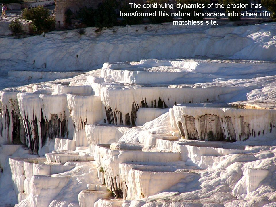 Pamukkale, is without a doubt, one of the most original phenomena found in nature.
