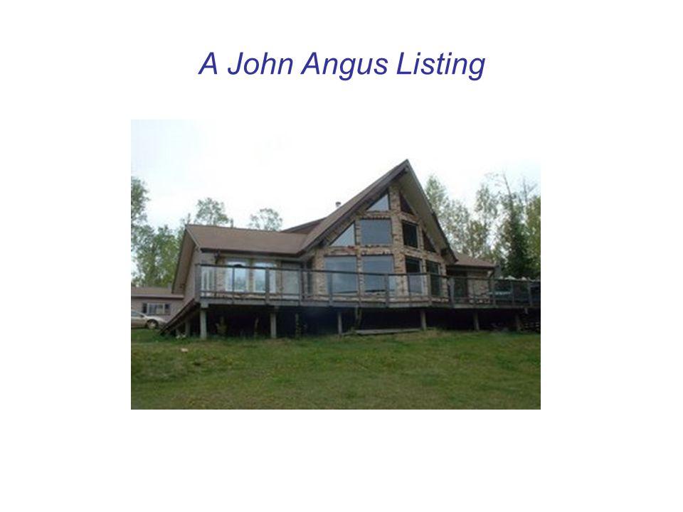 A John Angus Listing