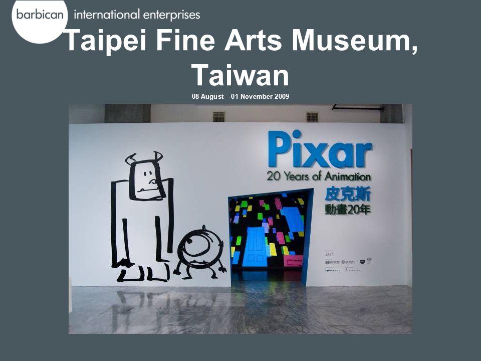 Taipei Fine Arts Museum, Taiwan 08 August – 01 November 2009