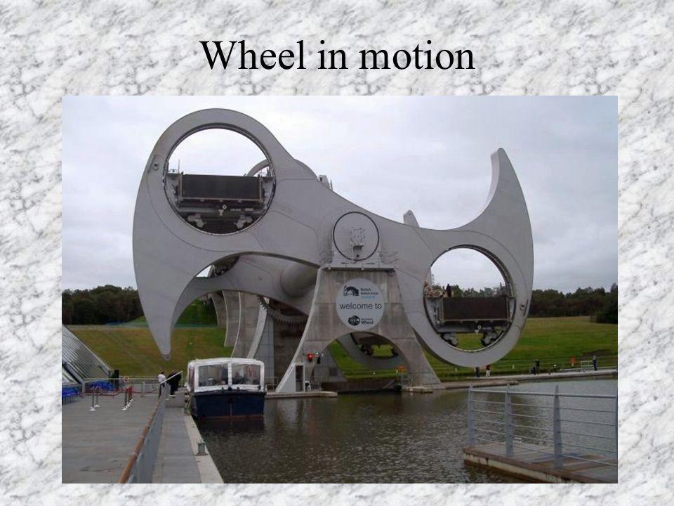 Boat entering the Wheel