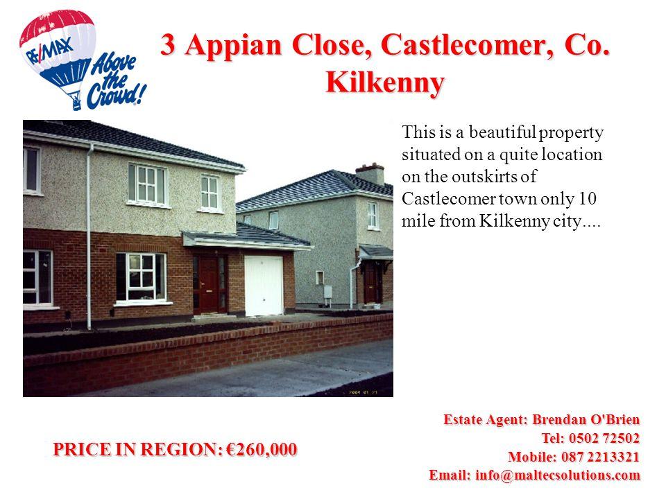 3 Appian Close, Castlecomer, Co.