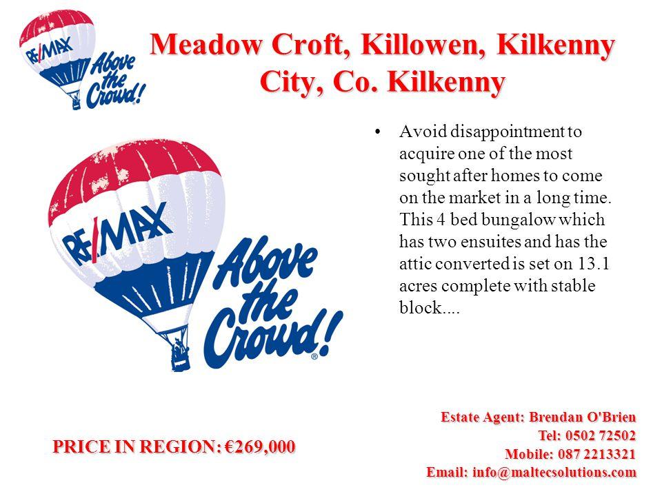Meadow Croft, Killowen, Kilkenny City, Co.