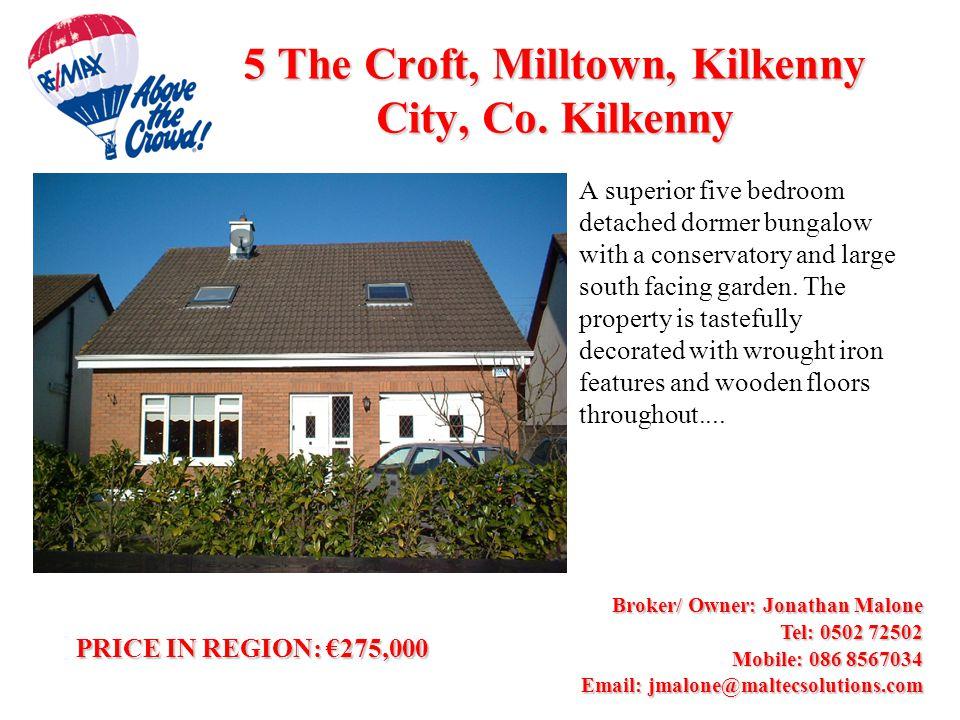 5 The Croft, Milltown, Kilkenny City, Co.