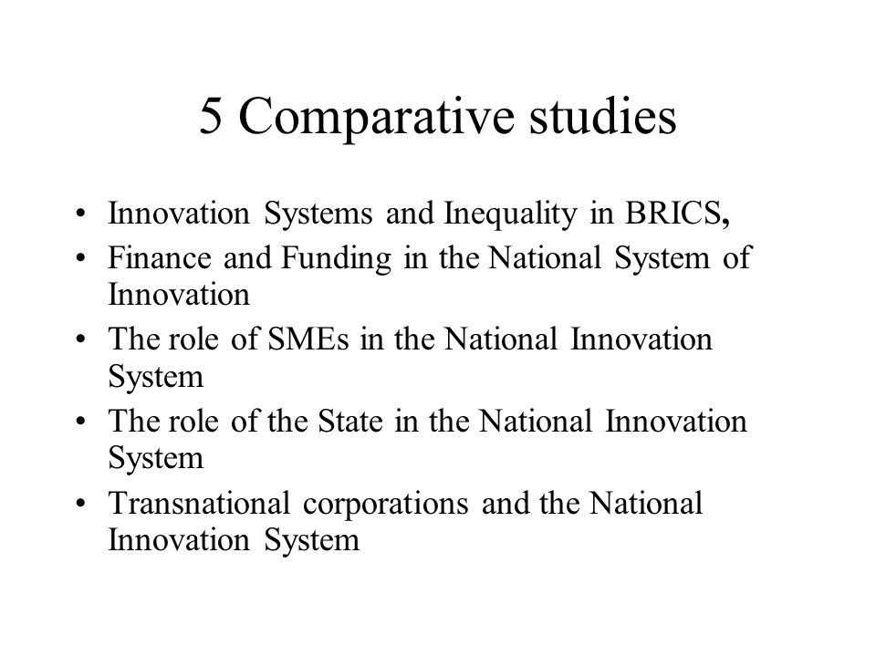BRICS – Total R&D Employees and Scientists - 2004 Source: Cassiolato and Stalivieri 2008