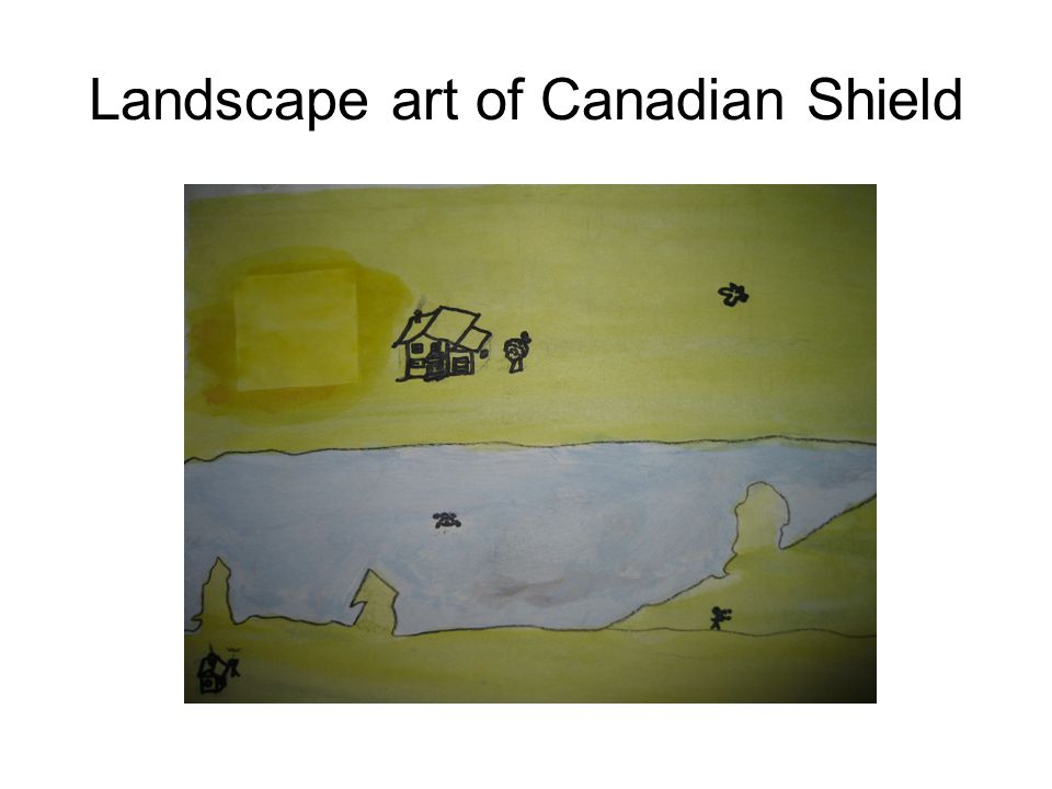 Landscape art of Canadian Shield