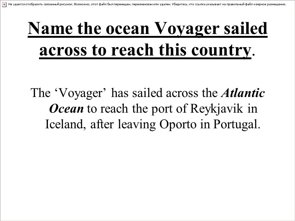 How many km has the Voyager sailed since leaving Southampton.