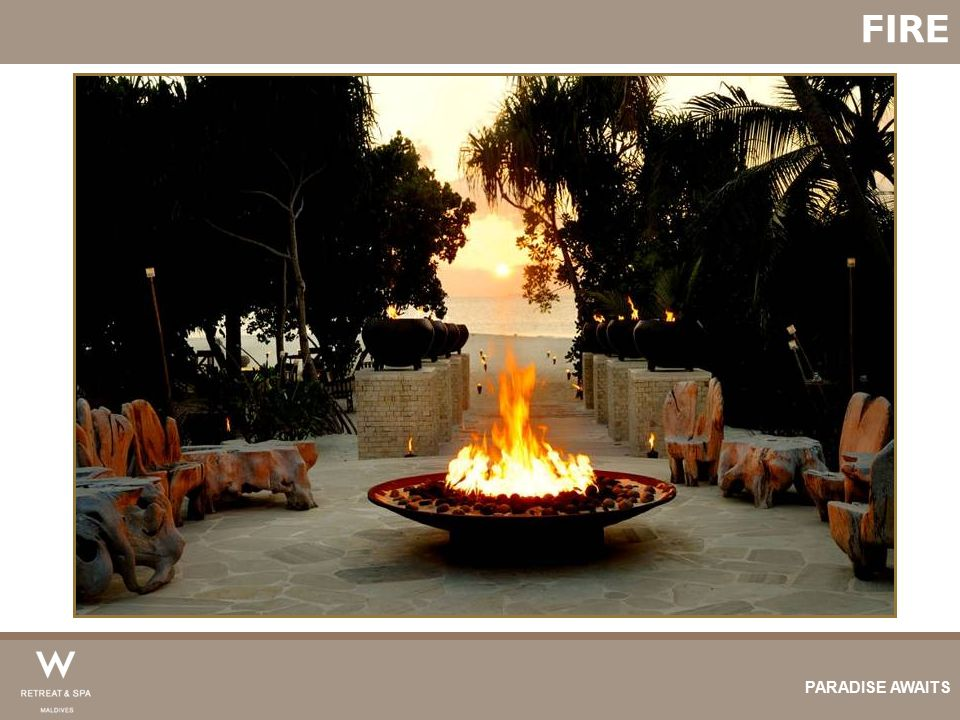 FIRE PARADISE AWAITS