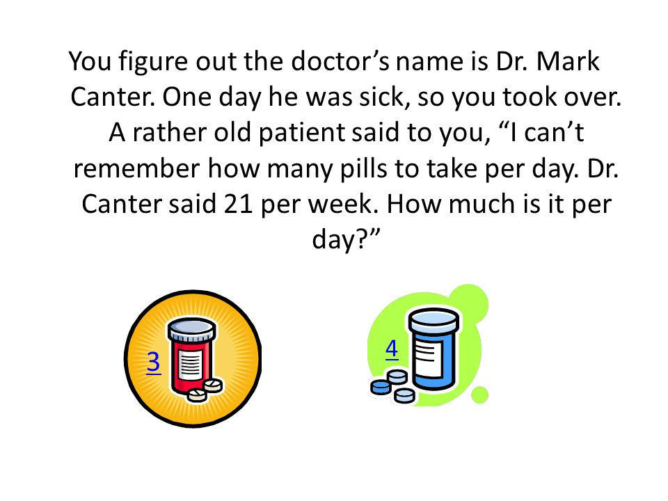 You figure out the doctor's name is Dr. Mark Canter.