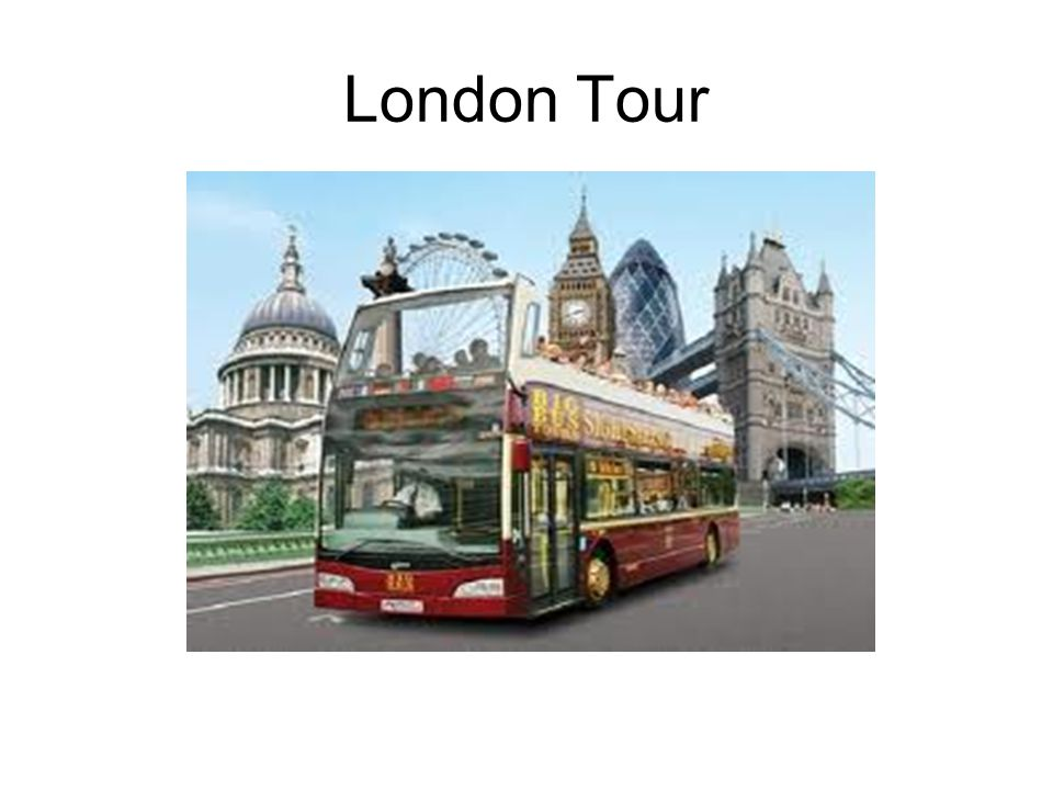 Which London sight can you see in the picture.