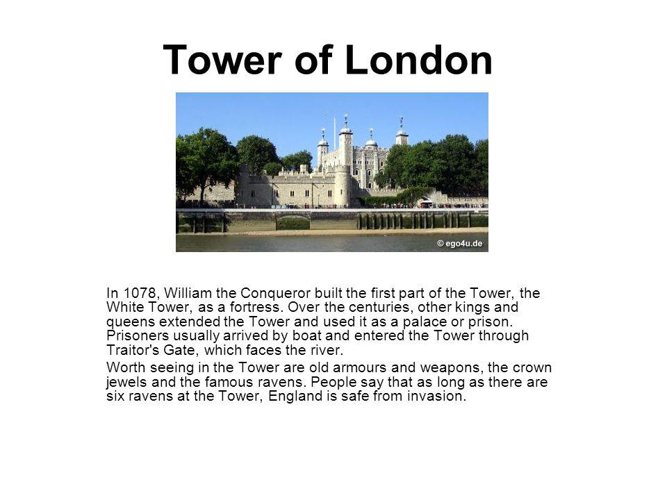 Tower Bridge Tower Bridge is the most famous bridge in London.