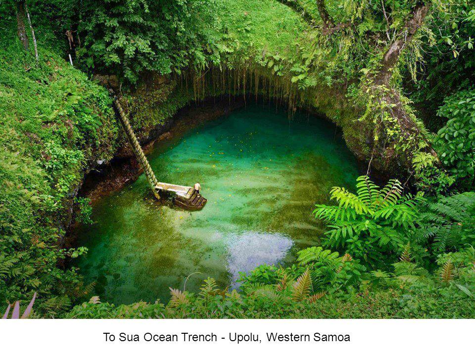 To Sua Ocean Trench - Upolu, Western Samoa