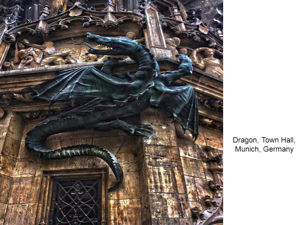 Dragon, Town Hall, Munich, Germany