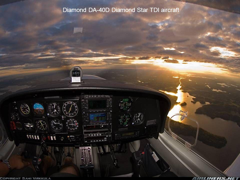Diamond DA-40D Diamond Star TDI aircraft