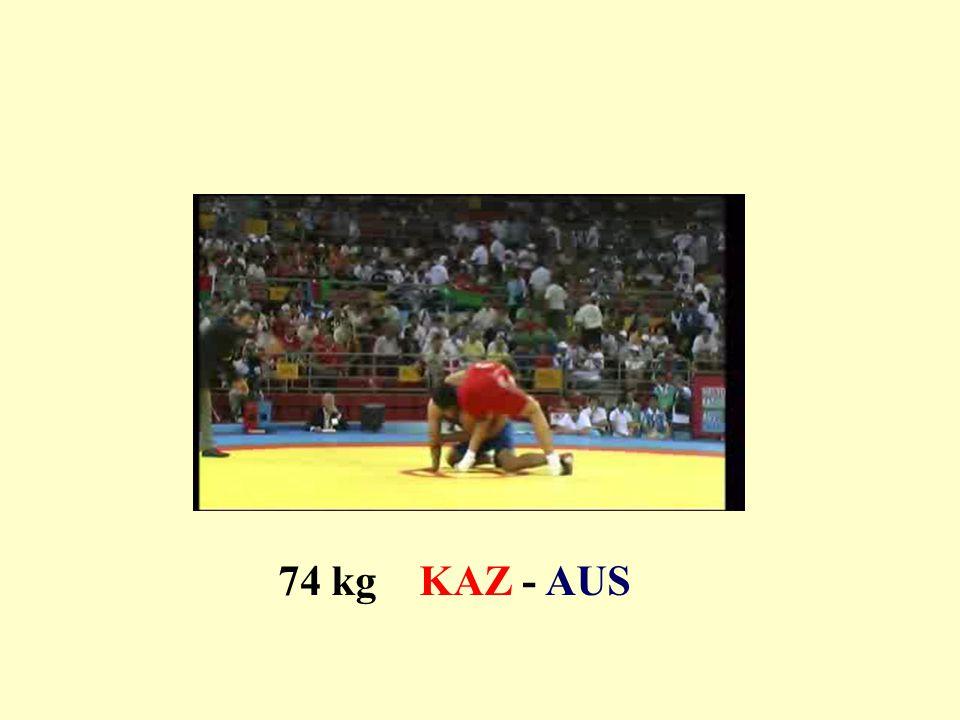 74 kg KAZ - AUS