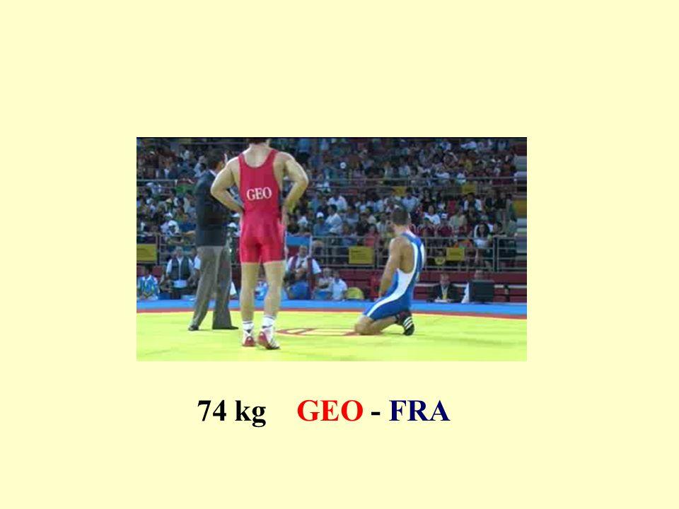 74 kg GEO - FRA