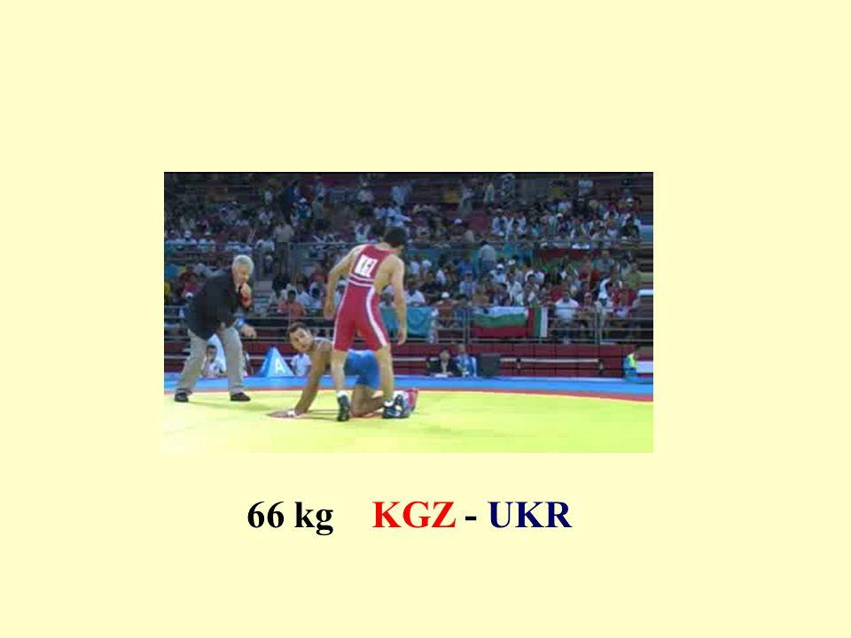 66 kg KGZ - UKR