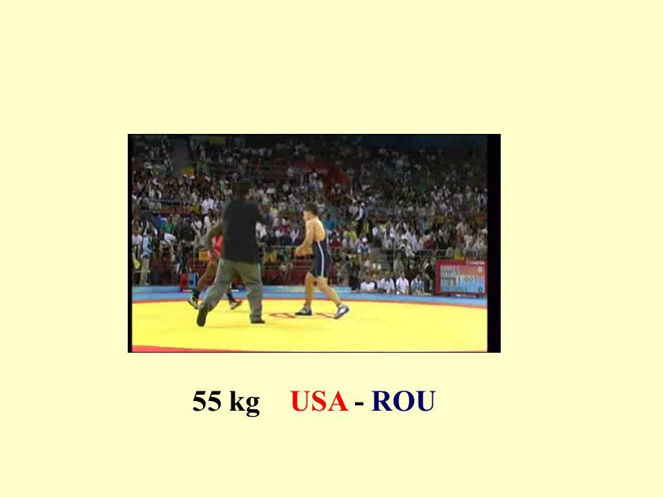 55 kg USA - ROU