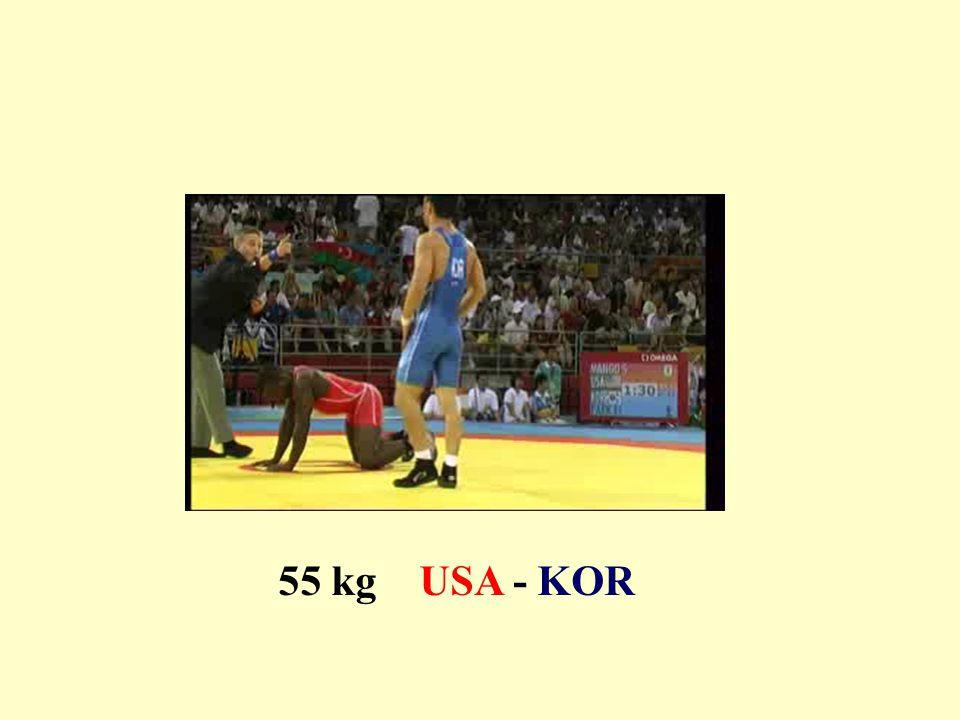 55 kg USA - KOR