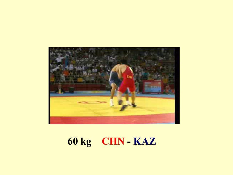 60 kg CHN - KAZ